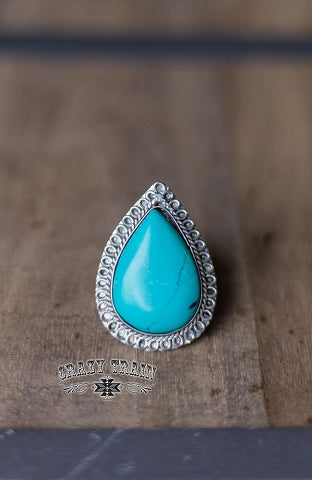 Clementine Turquoise Ring