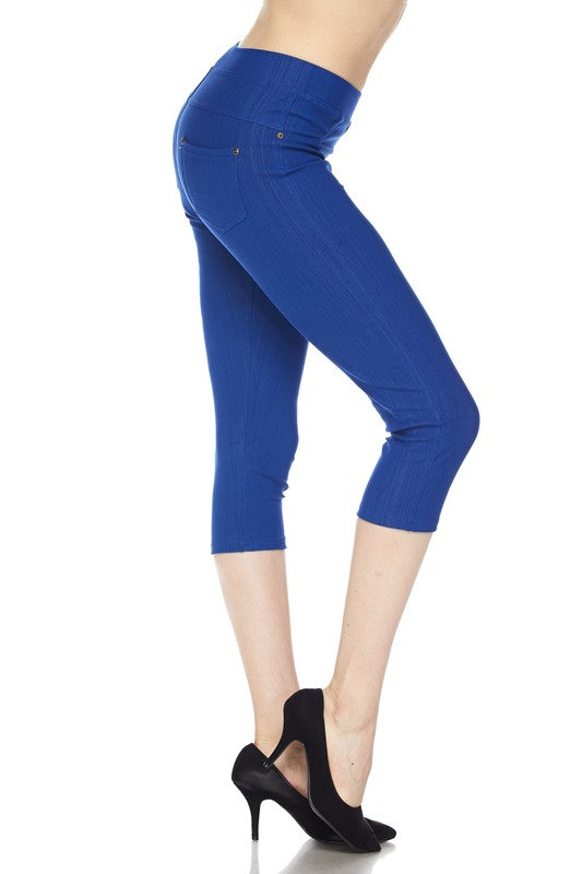 Capri Jeggings-One Size