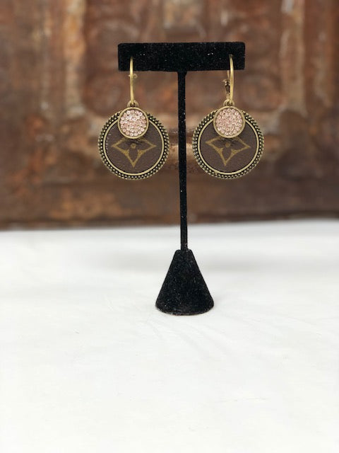 Upcycled Hoop Earrings