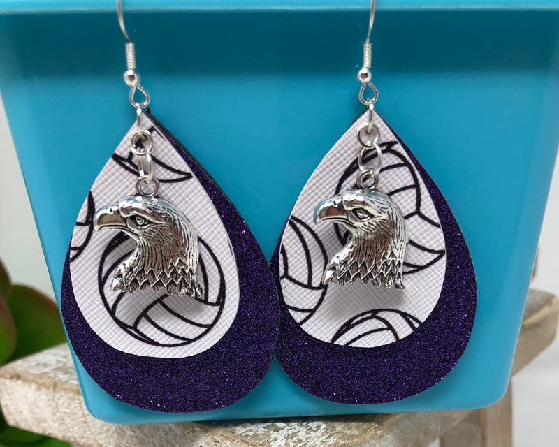 Earrings-Volleyball