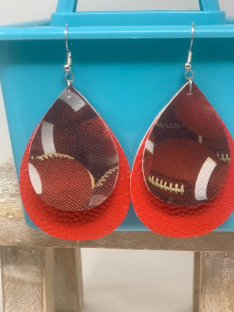 Earrings-Football