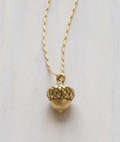 Amano Acorn Necklace