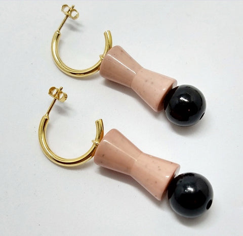 BIcone earrings
