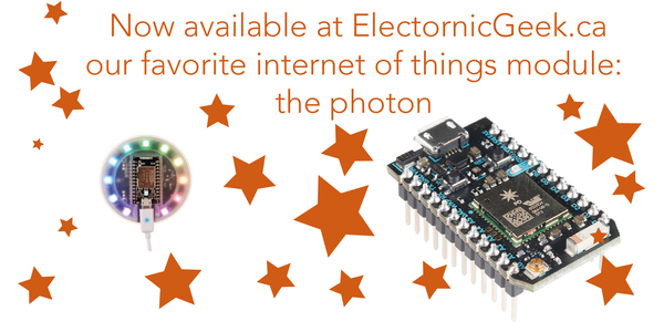 Introducing the photon , from Particle ( Spark)