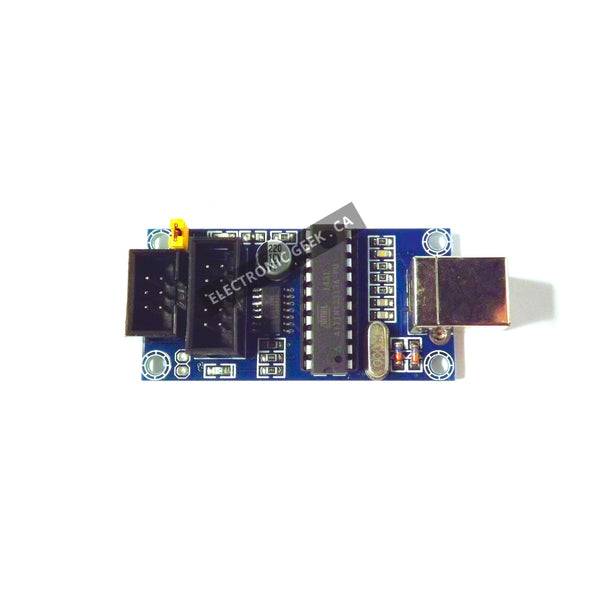 USB Tiny ISP AVR ISP Programmer + 2x Free Cable For