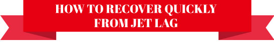 How to recover quickly from jetlag blog post