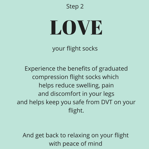 Love your flight socks