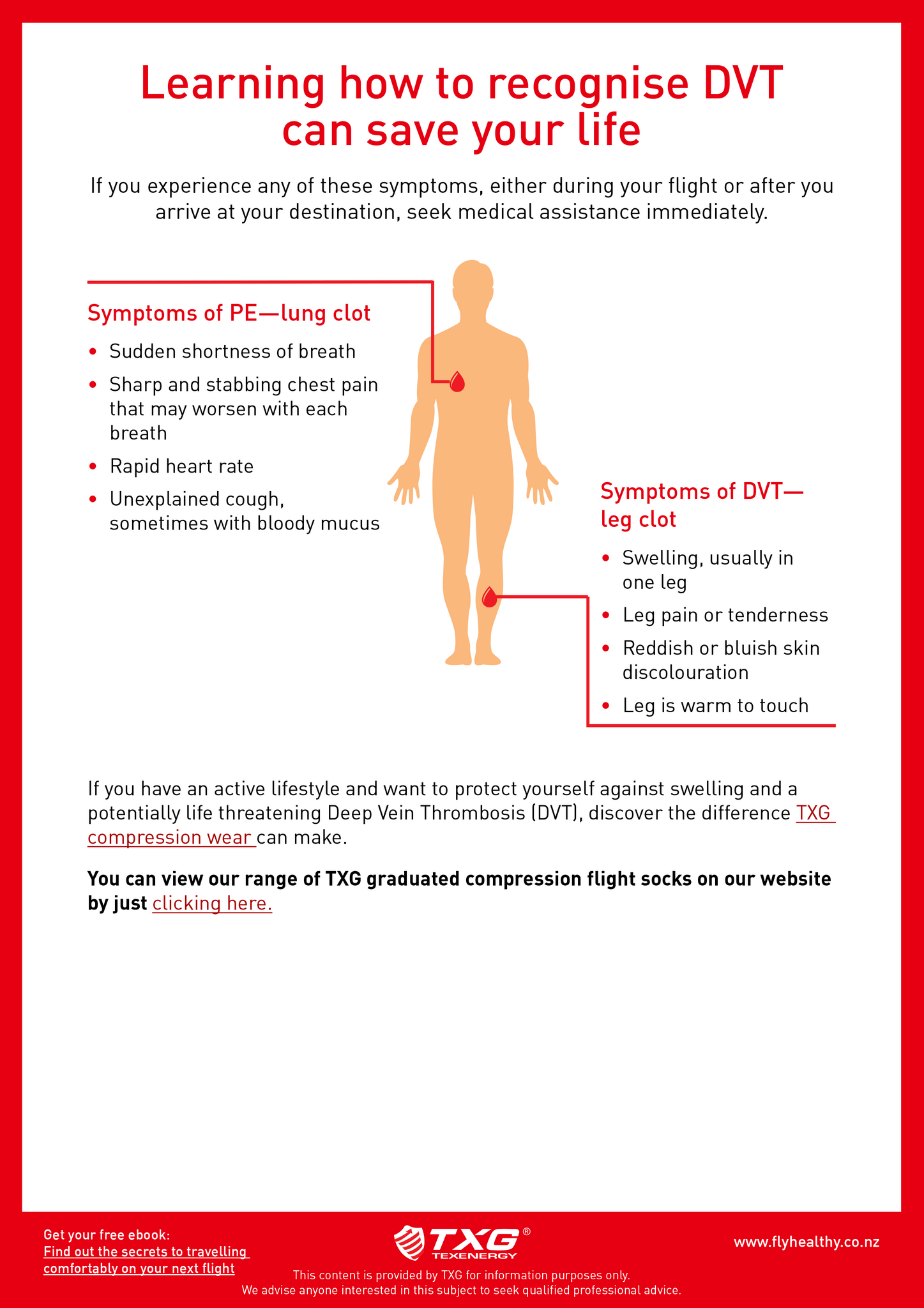Learning about DVT could save your life infographic