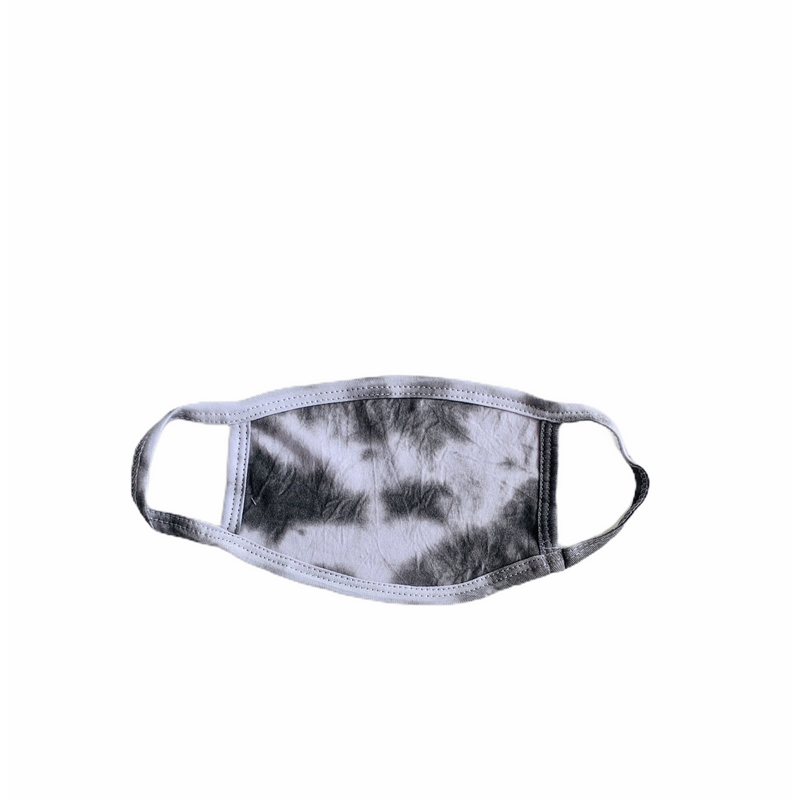 Tie Dye Black/ White Masks