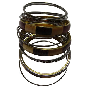 Rust, Brown, Tan Combo Bracelets
