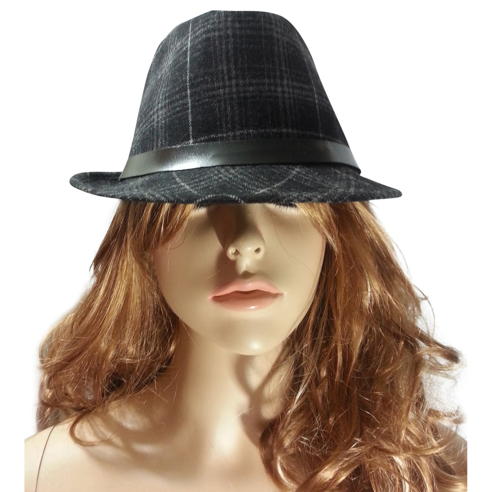 Black and Grey Fedora