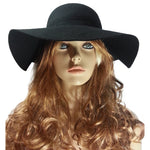 Wool Large Brim Hat
