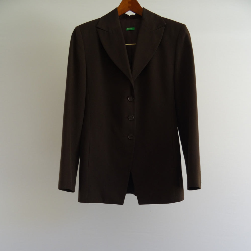 Dark Brown Italian Blazer: Small