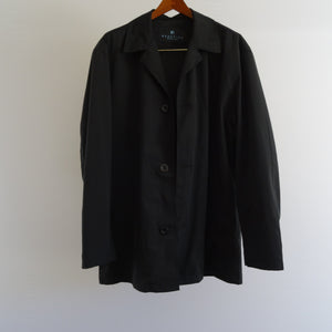 Black Reaction by Kenneth Cole Lightweight Jacket: Medium