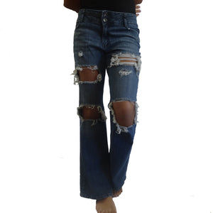 Chi-Wee's Treasure Axcess by Liz Claiborne Ripped Jeans:  Size 10