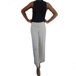 Chi-Wee's Treasure Peck and Peck Ivory Lined Dress Pants: Size 4