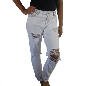 Chi-Wee's Treasure Michael Kors Ripped Write Jeans: Size 10