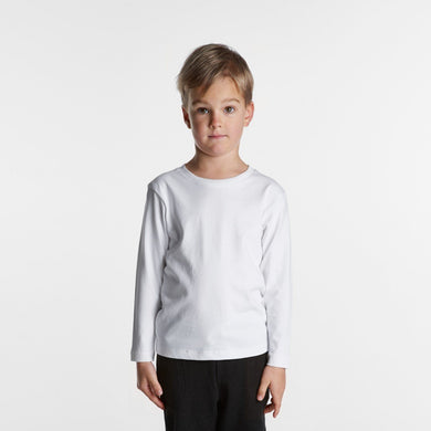 AS Colour - KIDS LONG SLEEVE TEE - 3007 T-Shirt Printing Australia