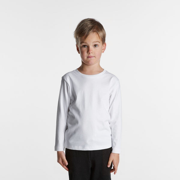 AS Colour - KIDS LONG SLEEVE TEE - 3007 - aussie-shirt-co