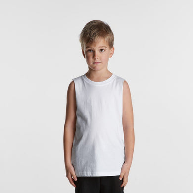 AS Colour -  KIDS BARNARD TANK - 3009 T-Shirt Printing Australia