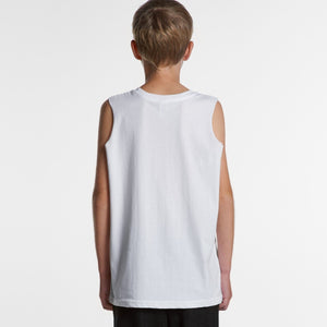AS Colour - YOUTH BARNARD TANK - 3010 T-Shirt Printing Australia