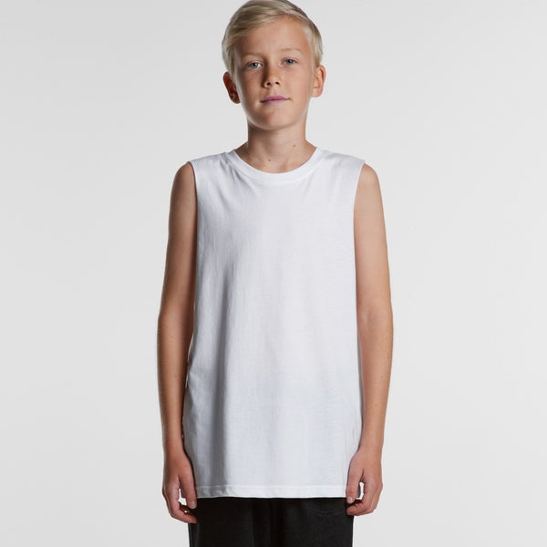 AS Colour - YOUTH BARNARD TANK - 3010 - aussie-shirt-co