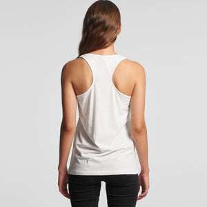 Design Your Own Racerback - AS Colour - WO'S BALANCE RACERBACK SINGLET - 4044 - Front Print - aussie-shirt-co