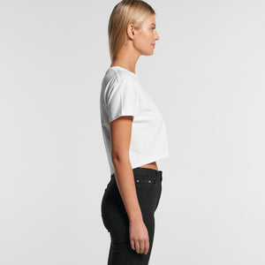 Design Your Own AS Colour T-Shirt - WO'S CROP TEE - 4062