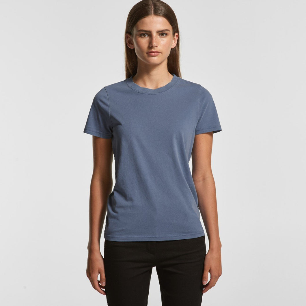 AS Colour - WOMEN'S FADED TEE 4065 T-Shirt Printing Australia