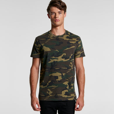 AS Colour - Mens Staple Camo Tee - 5001C T-Shirt Printing Australia