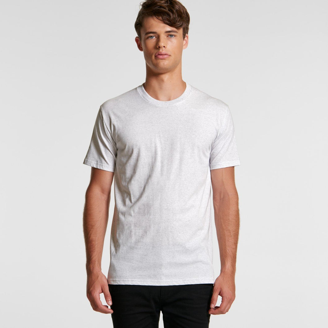 AS Colour - Mens Staple Marle Tee - 5001M T-Shirt Printing Australia
