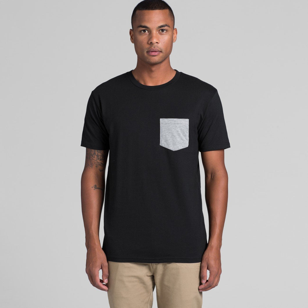 AS Colour - Mens Staple Pocket Tee - 5010 T-Shirt Printing Australia