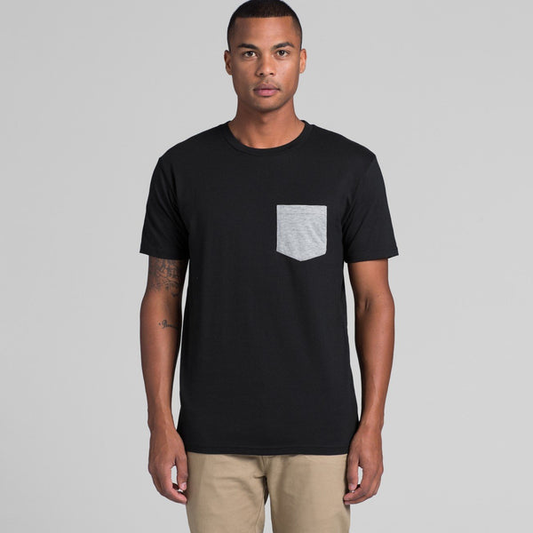 AS Colour - Mens Staple Pocket Tee - 5010 - aussie-shirt-co