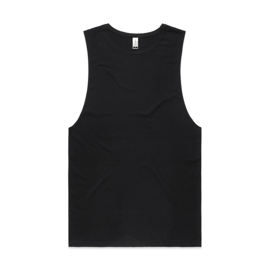 Design Your Own Tank - AS Colour - MENS BARNARD ORGANIC TANK - 5025G  - Front Print - aussie-shirt-co