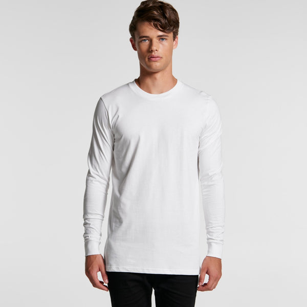 Design Your Own T-Shirt -  AS Colour - Mens Base L/S Tee - 5029