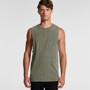 AS Colour - Mens Stone Wash Barnard Tank - 5039 T-Shirt Printing Australia