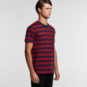 AS Colour - Mens Classic Stripe Tee - 5044 T-Shirt Printing Australia