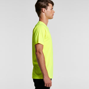 AS Colour MENS BLOCK TEE T-Shirt (SAFETY COLOURS) Blank or Design Your Own