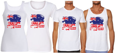 T-Shirt Tank or Cut Sleeve - FIT IN OR - ASC T-Shirts - aussie-shirt-co
