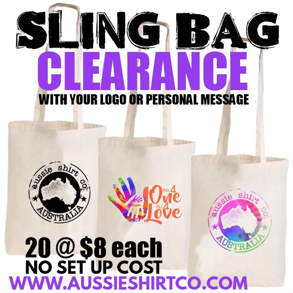 CALICO SLING SHOULDER BAG PACKAGE