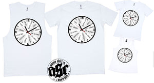 T-Shirt Tank or Cut Sleeve - Bar Clock - ASC T-Shirts - aussie-shirt-co