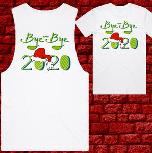 Christmas T-Shirts - Mens - Bye Bye 2020
