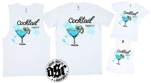 T-Shirt Tank or Cut Sleeve - Cocktail Party - ASC T-Shirts - aussie-shirt-co