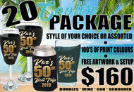 Can Schooner Wine Champagne Cooler Package