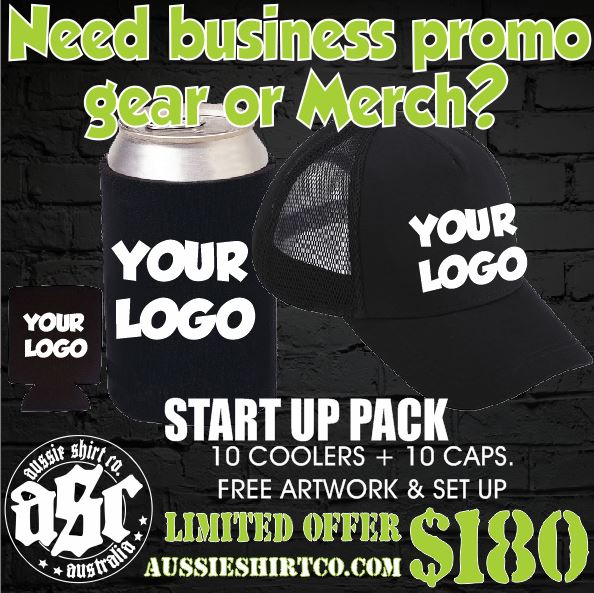 Caps & Coolers 10 PACK promote your business with branded merchandise.