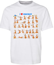 Load image into Gallery viewer, T-shirt Tank - I Love Cricket - ASC T-Shirts - aussie-shirt-co