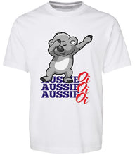 Load image into Gallery viewer, T-Shirt Tank or Cut Sleeve - Dabbing Koala Aussie Oi Oi Oi  - ASC - aussie-shirt-co