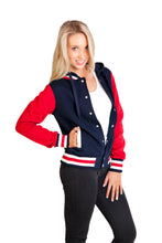 Load image into Gallery viewer, Design Your Own - Ramo Ladies Varsity Jacket & Hood