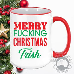 Christmas Coffee Mugs Butt