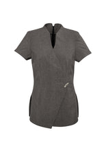 Load image into Gallery viewer, spa health health aged care tunics polyester elastane female women short sleeve